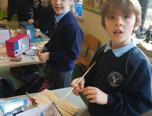 3rd Class Get Creative – Senior Infants Wowed!