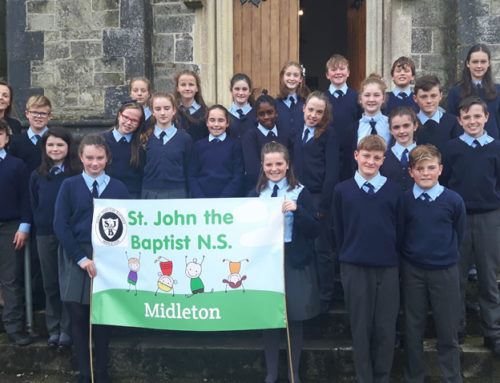 6th Class Attend Annual Schools Diocesan Service