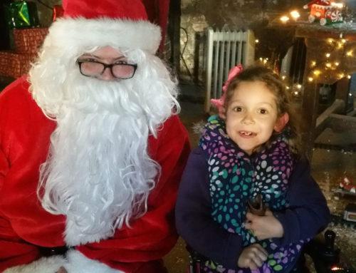 Senior Infants Visit Santa
