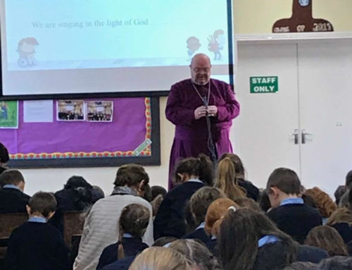 Bishop Colton visits to celebrate the Epiphany with us.